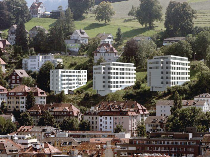 Mehrfamilienhäuser Berneggstrasse St. Gallen