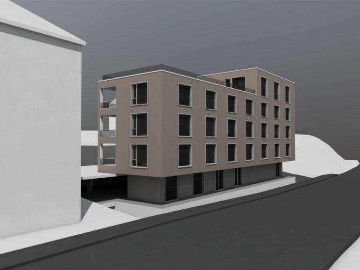 2018 Überbauung Langgasse St. Gallen